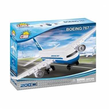 Cobi boeing 767 bouwstenen pakket