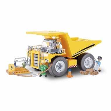 Cobi kiepwagen bouwstenen pakket