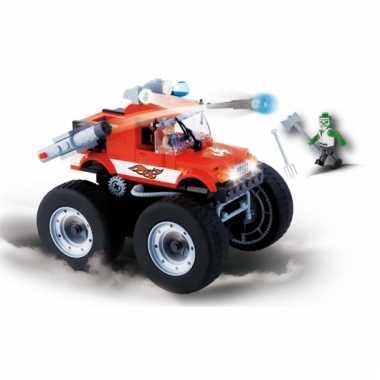 Cobi monster truck bouwstenen pakket