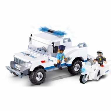 Cobi politiewagen bouwstenen pakket
