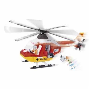 Cobi reddingshelikopter bouwstenen pakket