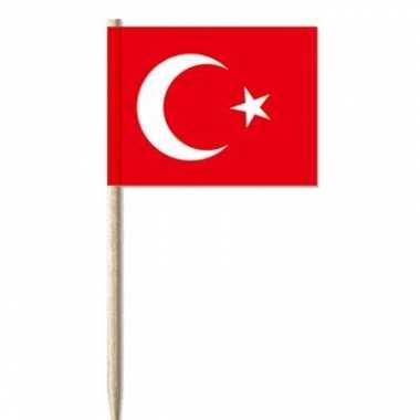 Cocktailprikker turkije 50 st
