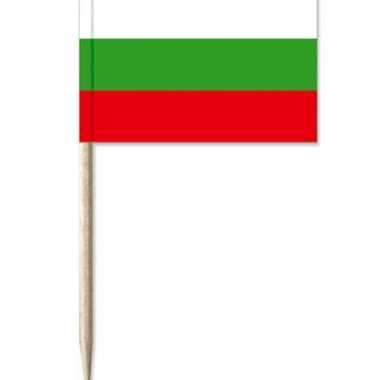 Cocktailprikkers bulgarije 50 stuks