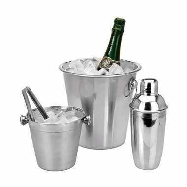 Cocktails maken barset 3-delig