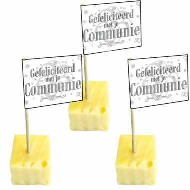 Communie cocktailprikkers 50 x