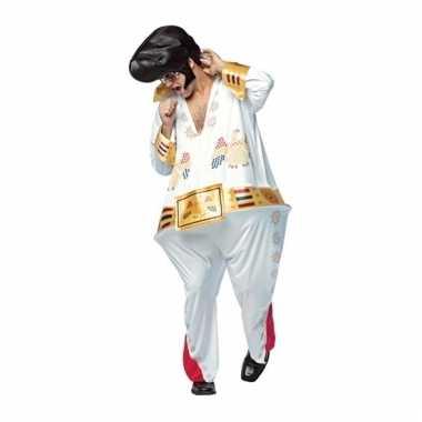 Compleet dikke popster kostuum voor heren