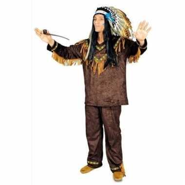 Compleet indianen kostuum hania voor heren