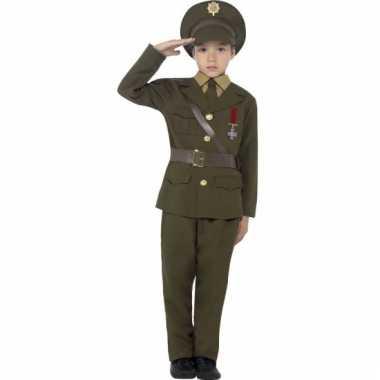 Compleet officieren kostuum voor kids