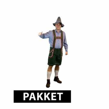 Compleet pakket maat l oktoberfest kleding heren