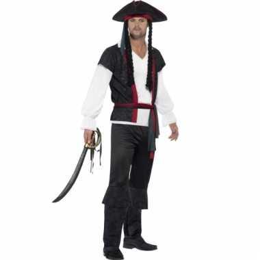 Compleet piraten kostuum voor heren