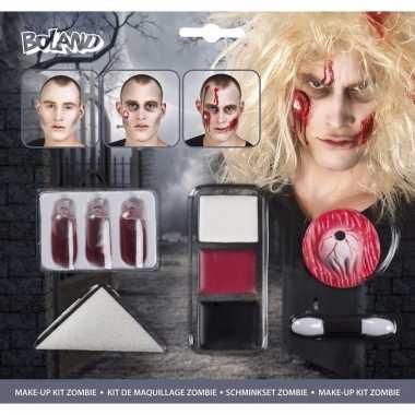 Complete horror zombie schmink set
