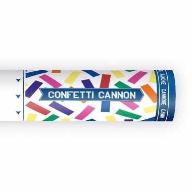 Confetti kanon mix kleuren 20 cm