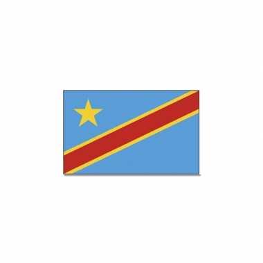 Congolese vlag 90x150 cm