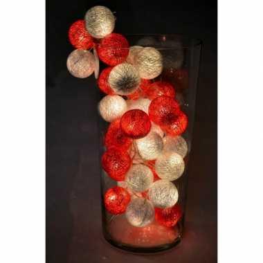 Cotton balls denemarken lichtsnoer