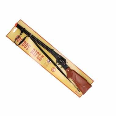 Cowboy geweer 8 schots 65 cm