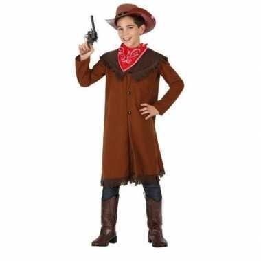 Cowboy john kostuum bruin voor jongens