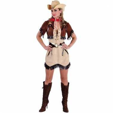 Cowboy jurkje met bolero voor dames