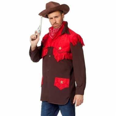 Cowboy verkleedkleding voor heren