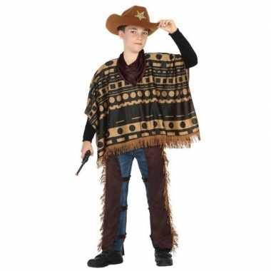 Cowboy/western kostuum voor jongens