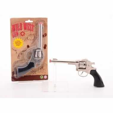Cowboy/western speelgoed pistool voor kinderen