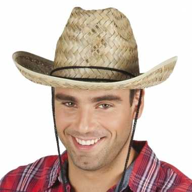 Cowboyhoed dallas wilde westen verkleedaccessoire