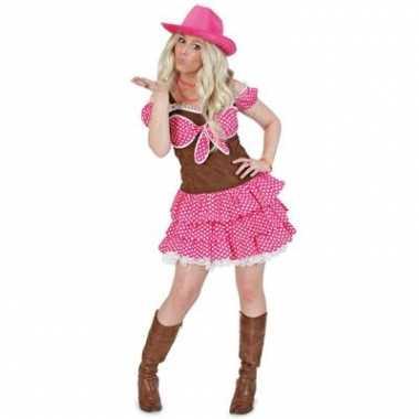 Cowgirl dolly kostuum dames