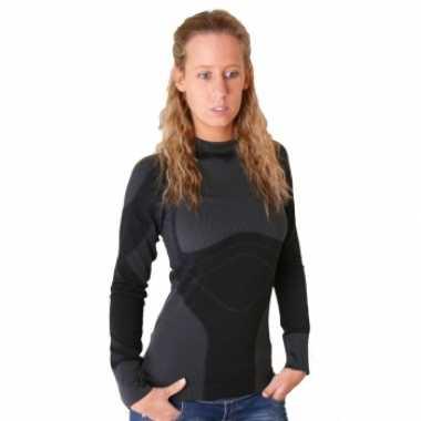 Craft thermoshirt zwart voor dames