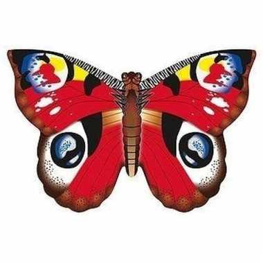 Dagpauwoog vlinder speel vlieger 70 x 48 cm