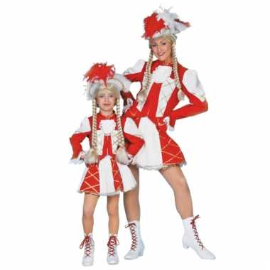 Dansmarieke outfit rood voor meisjes