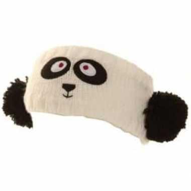 Dieren hoofdband panda dames