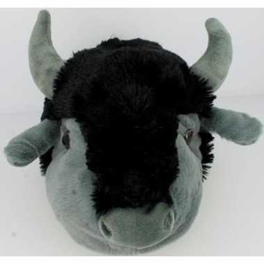 Dierensloffen/dierenpantoffels koeien/stieren/buffels/bizons voor her
