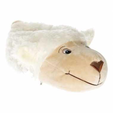 Dierensloffen/dierenpantoffels schapen/lammeren voor dames - maat 38/