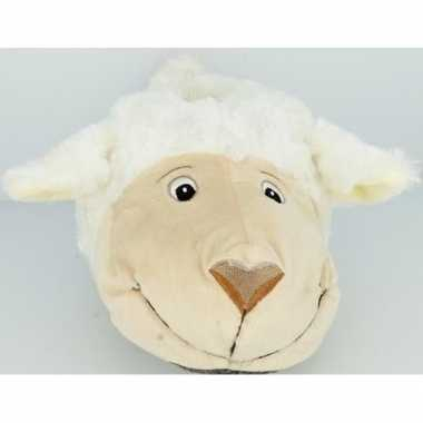 Dierensloffen/dierenpantoffels schapen/lammeren voor dames - maat 40/