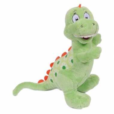 Dinosaurus tyrannosaurus knuffeldier 20 cm