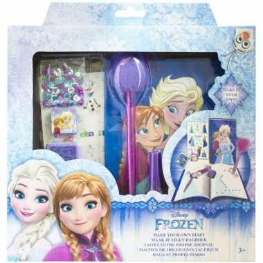 Disney frozen hobby dagboek knutselen set voor meisjes