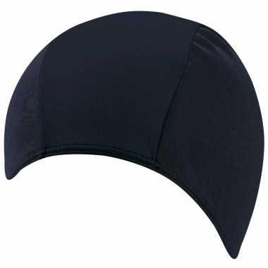 Donkerblauwe beco badmuts polyester voor volwassenen