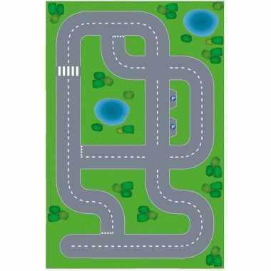 Dorpje xl diy speelgoed stratenplan/ kartonnen speelkleed