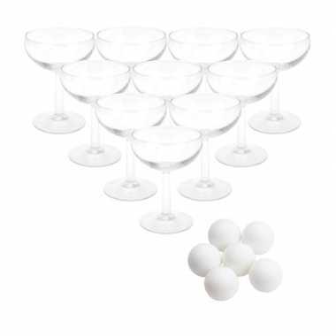 Drinkspel prosecco pong