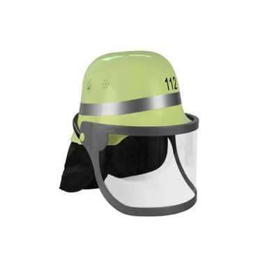 Duitse brandweer helm 112 groen