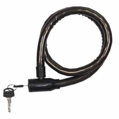 Dunlop kabelslot zwart voor de fiets 80 cm