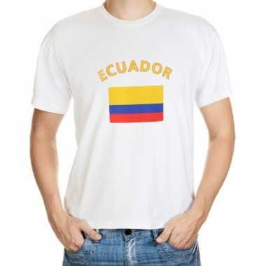 Ecuador vlag t-shirts