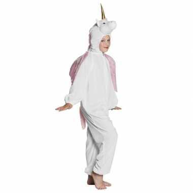 Eenhoorn onesie voor kinderen wit
