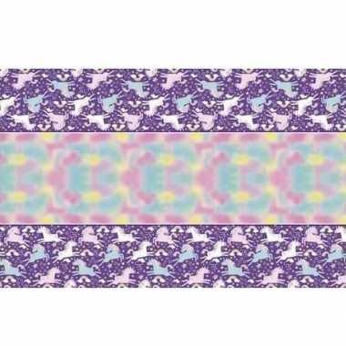 Eenhoorn tafelkleden decoratie 1,3 x 2,1 m