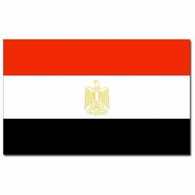 Egyptische vlag 90x150 cm