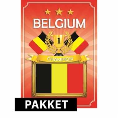 Ek belgie feestartikelen en versiering