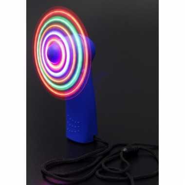 Electric run waaiertje met licht
