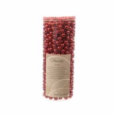 Elegant christmas kerstboom decoratie kralenslinger rood