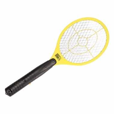 Elektrische vliegenmeppers geel