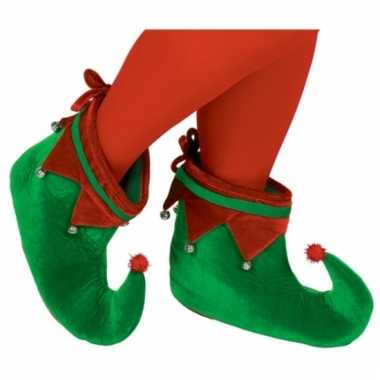 Elfen schoenen groen