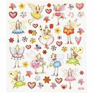 Elfjes stickers met glitter